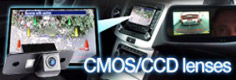 CMOS and CCD mini reverse parking cameras